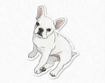 LuLu - French Bulldog - Decal Sticker