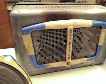 1947 Art Deco Motorola Car Radio Model 405 CH-AS13 Project Radio