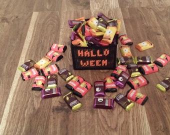 READY TO SHIP Halloween Basket Needlepoint