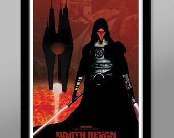 Darth Revan Inspired - Print 161 - Star Wars Poster