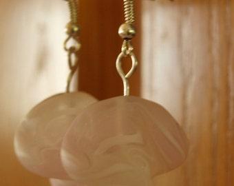 Pink Twist Earrings