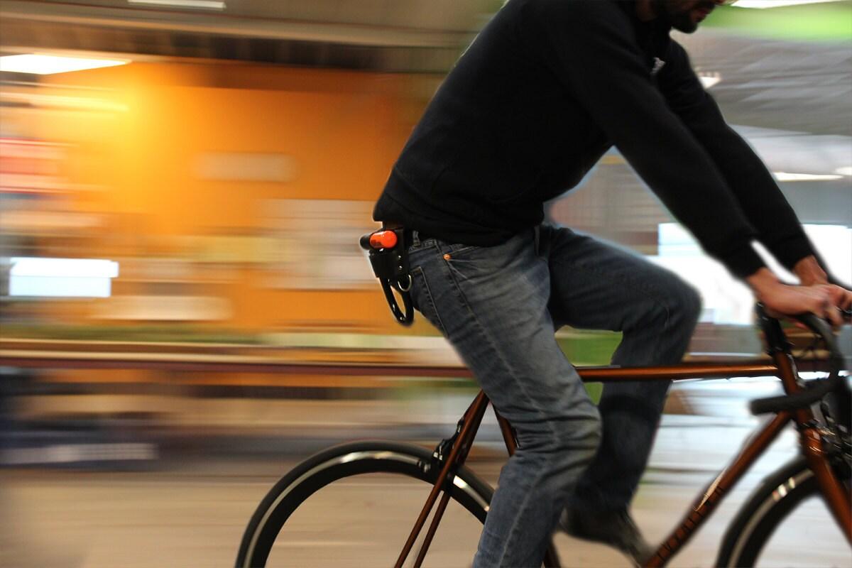 bicycle u lock holster by fyxation on etsy. Black Bedroom Furniture Sets. Home Design Ideas