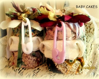 Baby Cakes Organic Baby Bath Soap~ Baby Shower Gift Sets~Organic Baby Soap