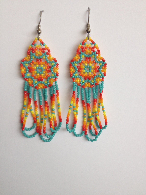 native american earrings how to make