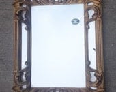 Beautiful Vintage Italian Gold Mirror