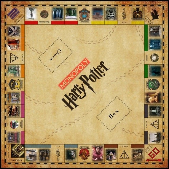 Image Result For Harry Potter Board Game Monopoly
