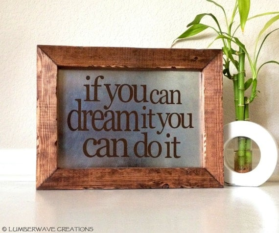 Inspirational Quotes On Wood: Wooden Signs With Quotes Inspirational Sign By