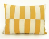 Geometric Dog Bed Cover | Colorblock Pillow cover in Mustard Yellow, Cream and Natural Beige | Cat or Puppy, Toy, Small Medium Dogs