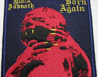 "Black Sabbath ""Born Again"" Embroidered Patch"