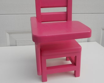 school desk chair all wood desk chair for american girl sized dolls