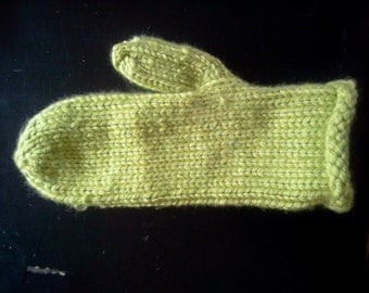 Hand Knit Chunky MIttens