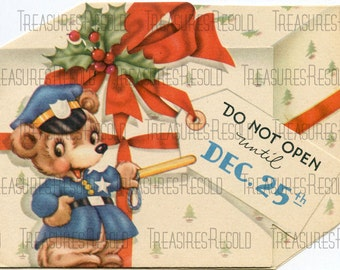 Do Not Open Until Dec 25th Christmas Card #88 Digital Download
