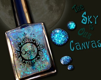 "SPELL Polish indie nail laquer ~The Sky is Our Canvas~ from ""It Was Written in the Stars""!"