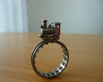 Steam Locomotive Ring