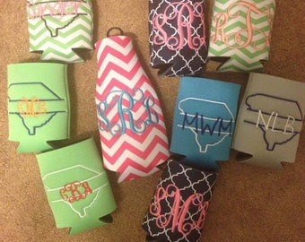 Monogrammed Coozies