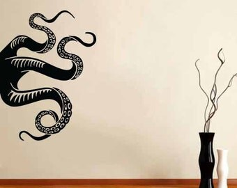 Wall Decal Vinyl Sticker Decals Octopus Sprut Poulpe Delfish tentacles