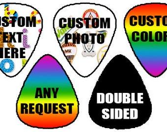 8 custom guitar picks