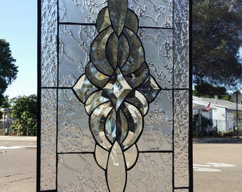 Lovely and Classic Stained & Beveled glass panel
