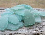 Light Blue MEDIUM Sea Glass Bulk Beach Glass Bulk Wedding Glass