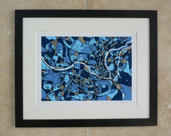 Black Frame For A4 Print From Firewater Gallery