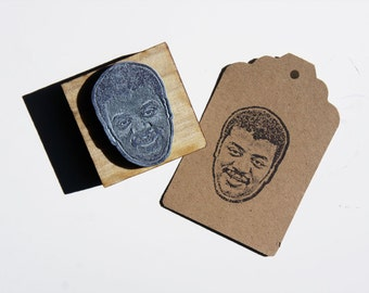 Neil DeGrasse Tyson Face Stamp -Free Shipping in Canada!