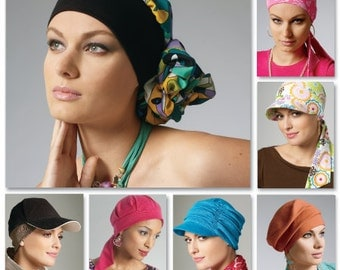 McCall's Sewing Pattern M6521 Headband, Head Wraps and Hats