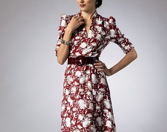 Butterick Sewing Pattern B5951 Misses' Gathered-Detail Dresses