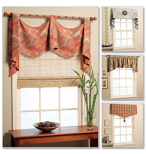 Valance Window Fashions McCall's Pattern M5872 By KlinesCorner