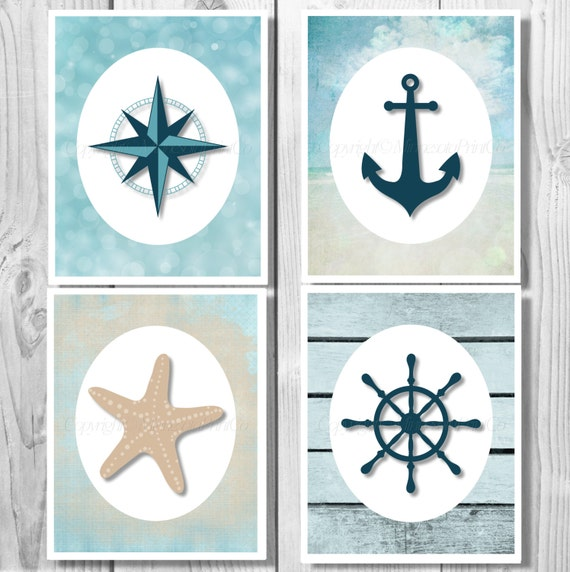 Nautical Anchor Bathroom Decor: Nautical Decor Nautical Anchor Decor Bathroom Decor