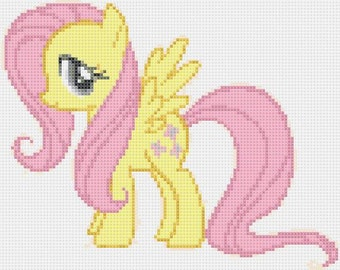 Schema punto croce my little pony
