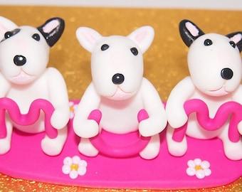 English Bull Terrier Mum Ornament, .