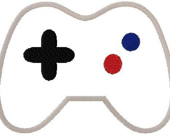 Game Controller Applique Embroidery Design