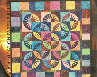 Judy Niemeyer Japanese Fan Foundation Paper Pieced Quilt