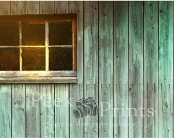 6ft.x4ft. Barn Window Vinyl Photography Backdrop