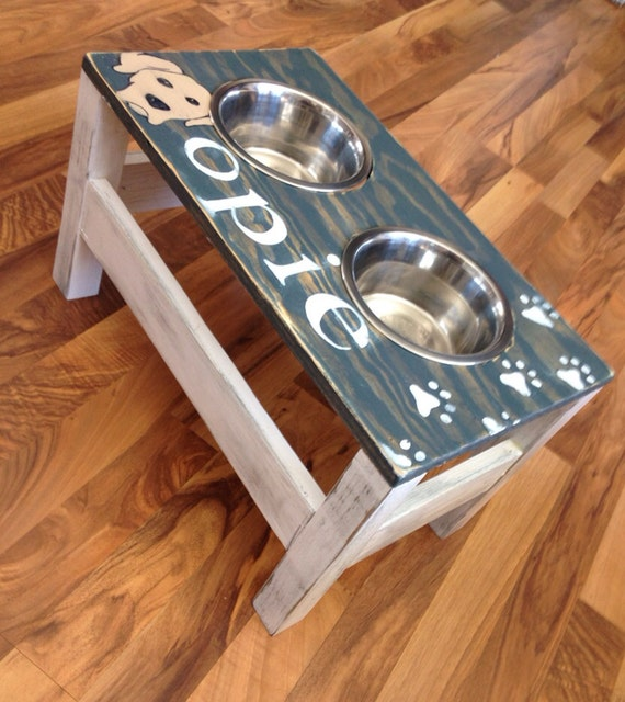 Amazing DIY Woodworking Plans Dog Bowl Stand PDF Download
