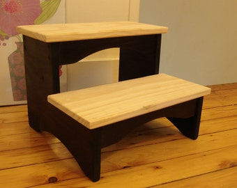 handcrafted heavy duty step stool 10 extra tall. Black Bedroom Furniture Sets. Home Design Ideas