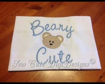 Beary Cute Boy Bear