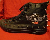Volbeat Converse Shoes
