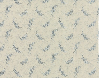 Moda fabric Snowbird 42170-13...Sold in continuous cut 1/2 yard increments