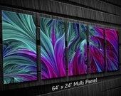 Abstract Metal Wall Art Depths