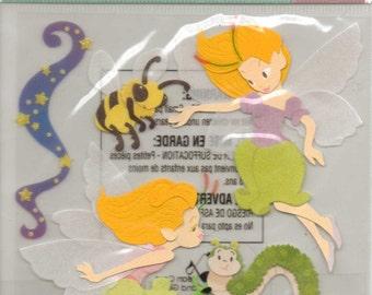 Ek Success Jolee's Boutique FAIRIES Dimensional Sticker