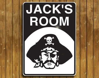 Personalized Pirate sign -- Arrrr!