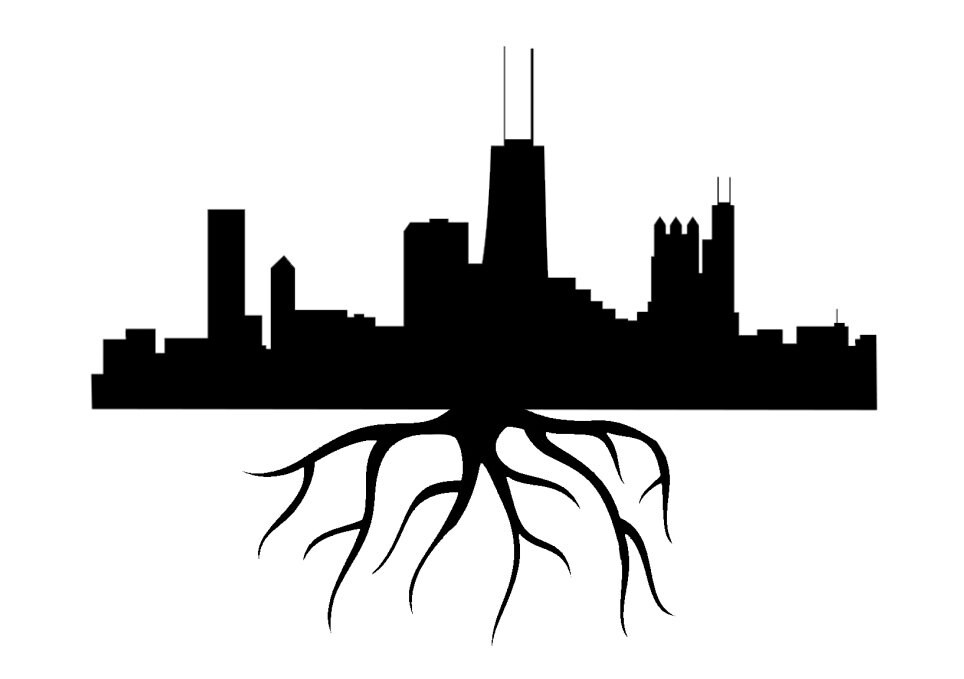 Chicago Skyline Silhouette Sketch Coloring Page Chicago Skyline Coloring Page