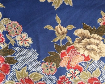 Floral 100% cotton fabric