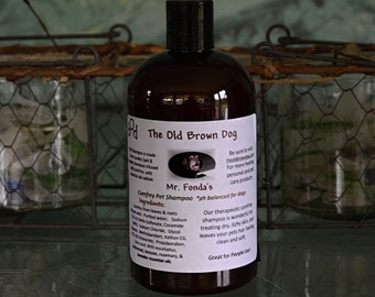Mr. Fonda's Therapeutic Pet Shampoo