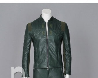 New Style Green Arrow Oliver Queen America Cosplay Costume  Just Jacket