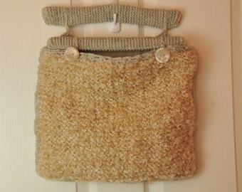 Accessory/Knitting Clutch Style Bag