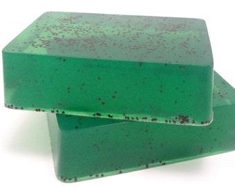 Alpine Soap, Cedarwood & Cypress, Handmade Soap Bar, Mens Soap, Forest Scented, Glycerin Soap, Mens Grooming