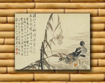 Chinese Art Asian Landscape Poster Art Print China Retro Decor (CH16)