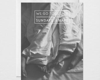 Sundays and Naps Card
